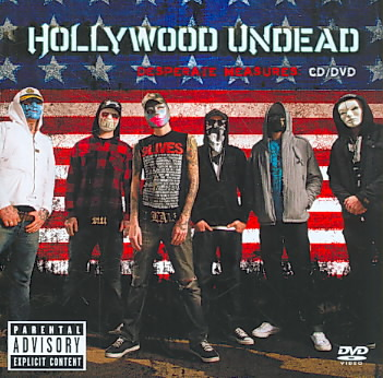 DESPERATE MEASURES:CD/DVD BY HOLLYWOOD UNDEAD (CD)